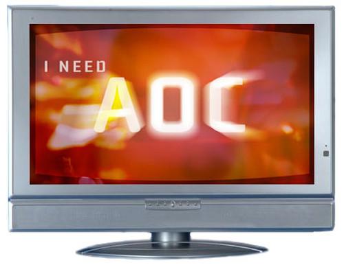 "AOC L32W351 32"" LCD-TV 81.3 cm (32"") Silver 0"