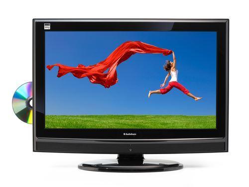 """AudioSonic LC-227092 TFT colour tv/dvd combi 21,6"""" (55cm) MPEG-4"""