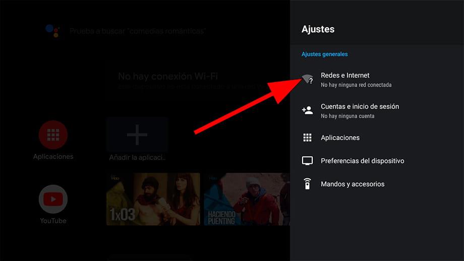 Ajustes Android TV