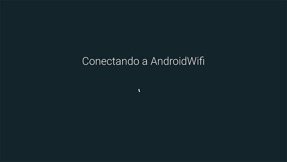 Contraseña Wi-Fi Android TV