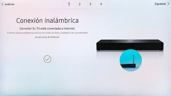 Finalizar configuración red SmartHub