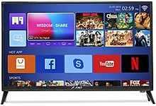 F&D 80 cm (32 inches) HD Ready LED TV T2V Range TLT-3216DT (Black)