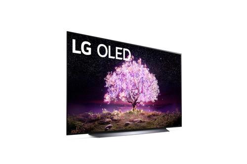 """LG C1 77"""" OLED77C1PUB 4K OLED 120Hz 194.8 cm (76.7"""") 4K Ultra HD Smart TV Wi-Fi Grey 4"""