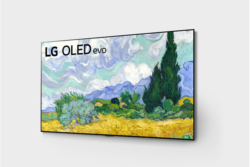 LG LG G1 65 inch Class with Gallery Design 4K Smart OLED TV w/AI ThinQ® (64.5'' Diag)