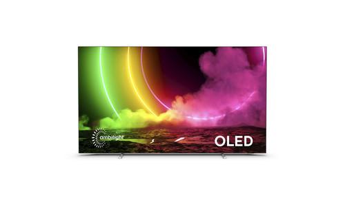 "Philips 48OLED806/12 TV 121.9 cm (48"") 4K Ultra HD Smart TV Wi-Fi Metallic 0"