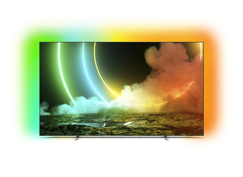 "Philips 55OLED706/12 TV 139.7 cm (55"") 4K Ultra HD Smart TV Wi-Fi Metallic 0"