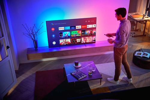 "Philips 48OLED806/12 TV 121.9 cm (48"") 4K Ultra HD Smart TV Wi-Fi Metallic 10"