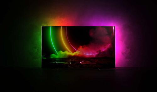 "Philips 48OLED806/12 TV 121.9 cm (48"") 4K Ultra HD Smart TV Wi-Fi Metallic 1"