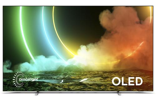 "Philips 55OLED706/12 TV 139.7 cm (55"") 4K Ultra HD Smart TV Wi-Fi Metallic 1"