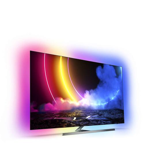 "Philips 55OLED856/12 TV 139.7 cm (55"") 4K Ultra HD Smart TV Wi-Fi Grey 1"