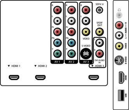 """Philips 52PFL5603D/F7 TV 132.1 cm (52"""") Full HD Silver 2"""
