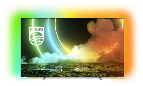 "Philips 55OLED706/12 TV 139.7 cm (55"") 4K Ultra HD Smart TV Wi-Fi Metallic 4"