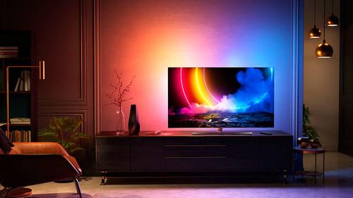 "Philips 55OLED856/12 TV 139.7 cm (55"") 4K Ultra HD Smart TV Wi-Fi Grey 4"