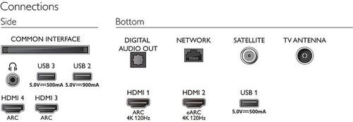 "Philips 48OLED806/12 TV 121.9 cm (48"") 4K Ultra HD Smart TV Wi-Fi Metallic 5"