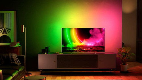 "Philips 48OLED806/12 TV 121.9 cm (48"") 4K Ultra HD Smart TV Wi-Fi Metallic 6"
