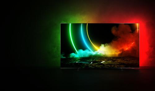 "Philips 55OLED706/12 TV 139.7 cm (55"") 4K Ultra HD Smart TV Wi-Fi Metallic 7"