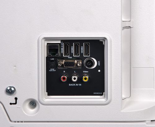 """Salora MILKYWAY 55 TV 139.7 cm (55"""") 4K Ultra HD Smart TV Wi-Fi White 6"""