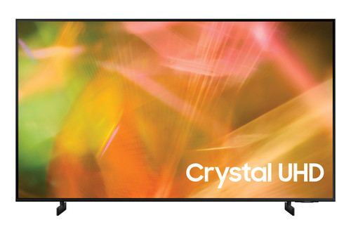 "Samsung Series 8 AU8000 139.7 cm (55"") 4K Ultra HD Smart TV Wi-Fi Black 0"