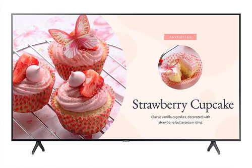 "Samsung BE82T-H TV 2.08 m (82"") 4K Ultra HD Smart TV Wi-Fi Grey 0"