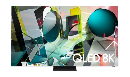"Samsung Q900TS 165.1 cm (65"") 8K Ultra HD Smart TV Wi-Fi Stainless steel 0"