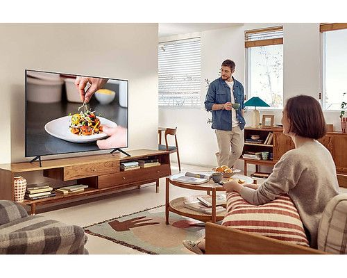 "Samsung Series 7 AU7000 139.7 cm (55"") 4K Ultra HD Smart TV Wi-Fi Grey 10"