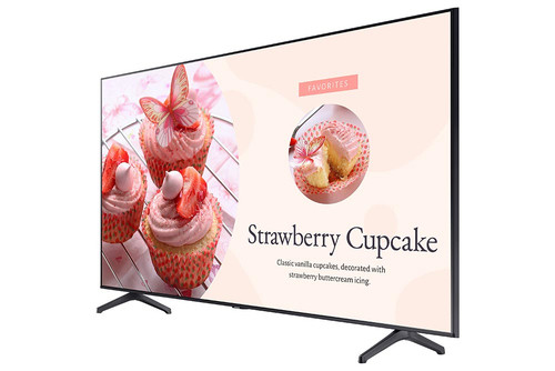 "Samsung BE82T-H TV 2.08 m (82"") 4K Ultra HD Smart TV Wi-Fi Grey 1"