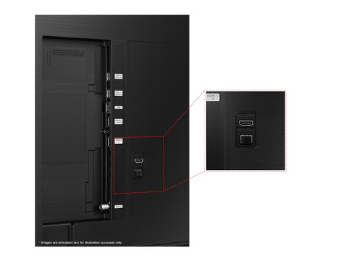 "Samsung Series 8 UN43AU8000 109.2 cm (43"") 4K Ultra HD Smart TV Wi-Fi Black 3"