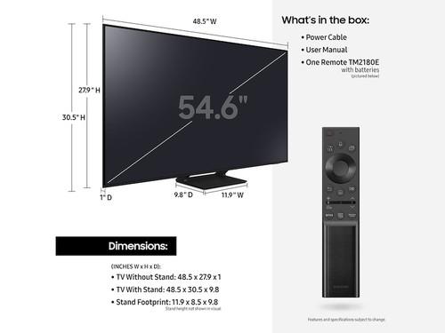 """Samsung Q70A QN55Q70AAF 138.7 cm (54.6"""") 4K Ultra HD Smart TV Wi-Fi Black 4"""