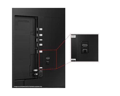 "Samsung Series 9 UE50AU9005K 127 cm (50"") 4K Ultra HD Smart TV Wi-Fi Black 6"