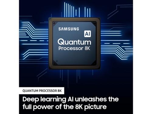 "Samsung Q900TS 165.1 cm (65"") 8K Ultra HD Smart TV Wi-Fi Stainless steel 8"