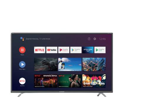 "Sharp 43BL2EA 109.2 cm (43"") 4K Ultra HD Smart TV Wi-Fi Grey 0"