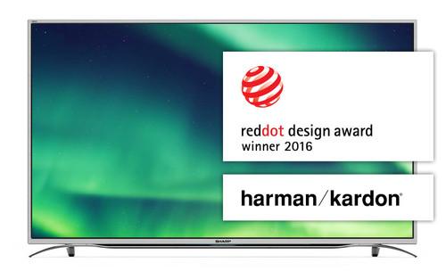 "Sharp Aquos LC-55CUF8372ES TV 139.7 cm (55"") 4K Ultra HD Smart TV Wi-Fi Silver 0"