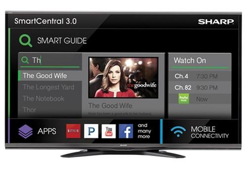 """Sharp LC-70SQ15U 177.8 cm (70"""") Full HD Smart TV Wi-Fi Black 0"""