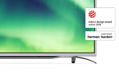 "Sharp Aquos LC-55CUF8372ES TV 139.7 cm (55"") 4K Ultra HD Smart TV Wi-Fi Silver 2"