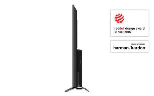 "Sharp Aquos LC-55CUF8372ES TV 139.7 cm (55"") 4K Ultra HD Smart TV Wi-Fi Silver 3"