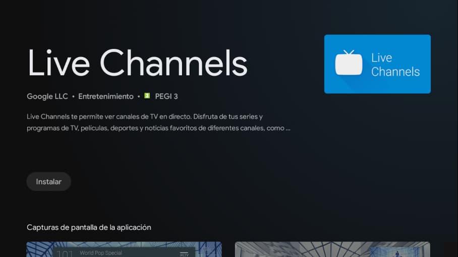Sintonizar Android TV paso 3