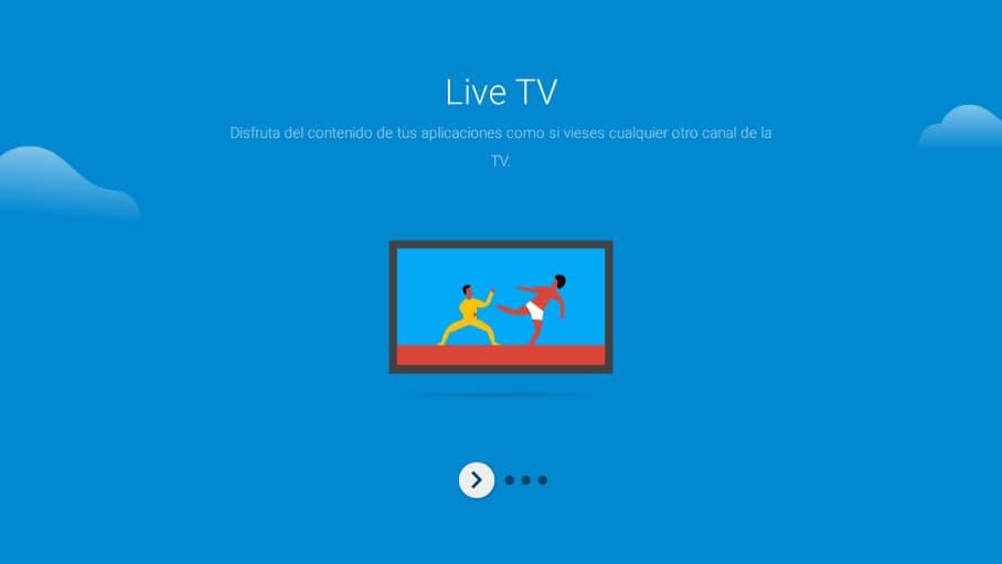 Sintonizar Android TV paso 5