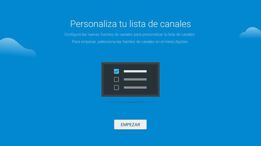 Sintonizar Android TV paso 6