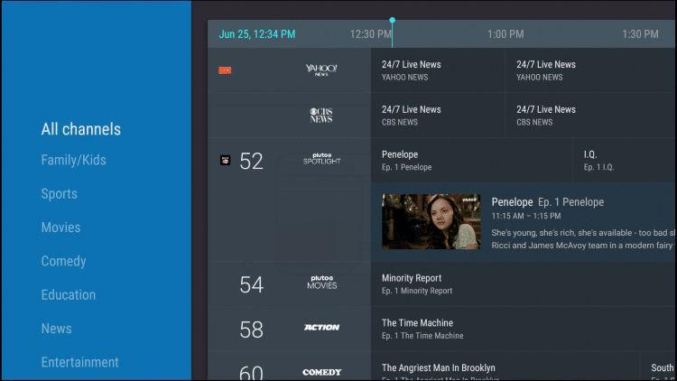 Sintonizar Android TV paso 8