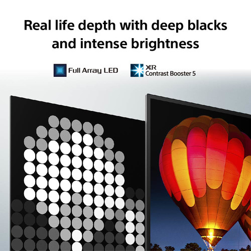 "Sony XR55X90JU TV 139.7 cm (55"") 4K Ultra HD Smart TV Wi-Fi Black 8"