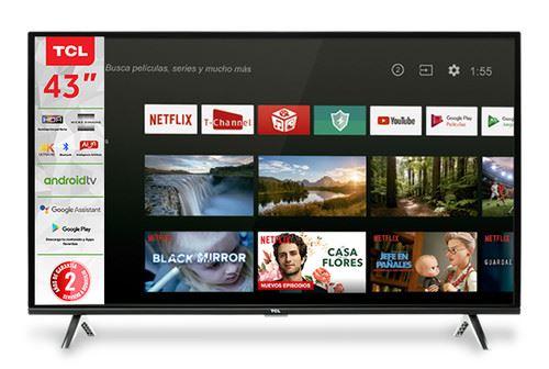 "TCL 43A423 TV 109.2 cm (43"") 4K Ultra HD Smart TV Wi-Fi Black 0"