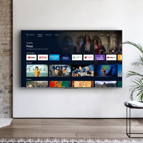 "TCL 65C722 TV 165.1 cm (65"") 4K Ultra HD Smart TV Wi-Fi Silver 10"