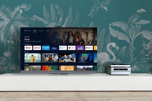 "TCL 65C825 TV 165.1 cm (65"") 4K Ultra HD Smart TV Wi-Fi Silver 1"