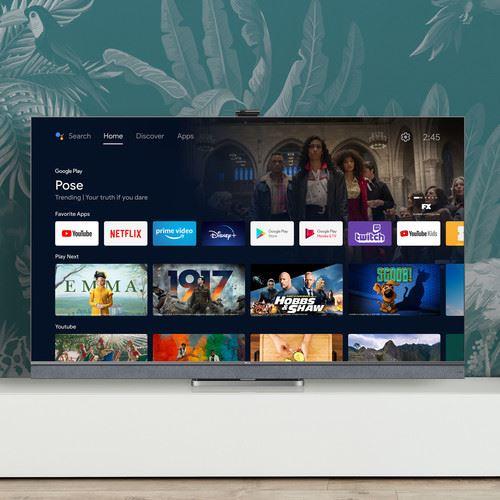 "TCL 65C825 TV 165.1 cm (65"") 4K Ultra HD Smart TV Wi-Fi Silver 3"