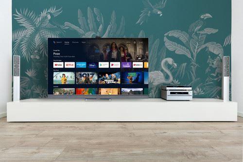 "TCL 65C825 TV 165.1 cm (65"") 4K Ultra HD Smart TV Wi-Fi Silver 6"