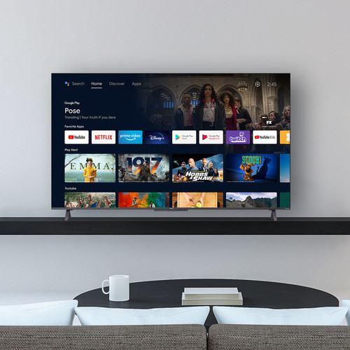 "TCL 50C722 TV 127 cm (50"") 4K Ultra HD Smart TV Wi-Fi Silver 8"