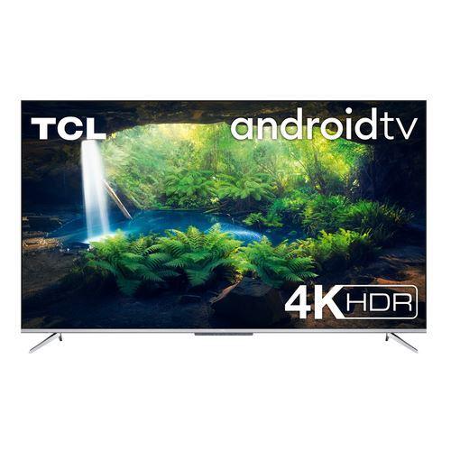 "TCL 43P715 TV 109.2 cm (43"") 4K Ultra HD Smart TV Wi-Fi Silver"