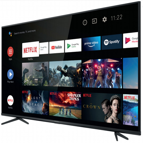 "Thomson 55UG6400 TV 139.7 cm (55"") 4K Ultra HD Smart TV Wi-Fi Black 0"