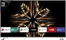 Vu Official Android 190cm (75-inch) VU/S/OAUHD75 Ultra HD (4K) LED Smart TV